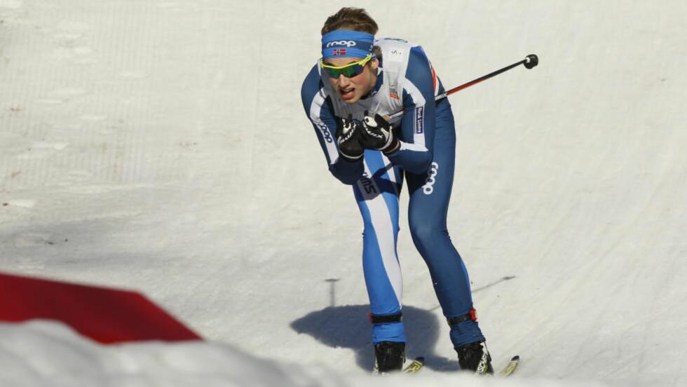 DEBUTERTE: Even Northug debuterte i verdenscupen, og ble nummer 47. Foto: Halvor Solhjem Njerve / Dagbladet