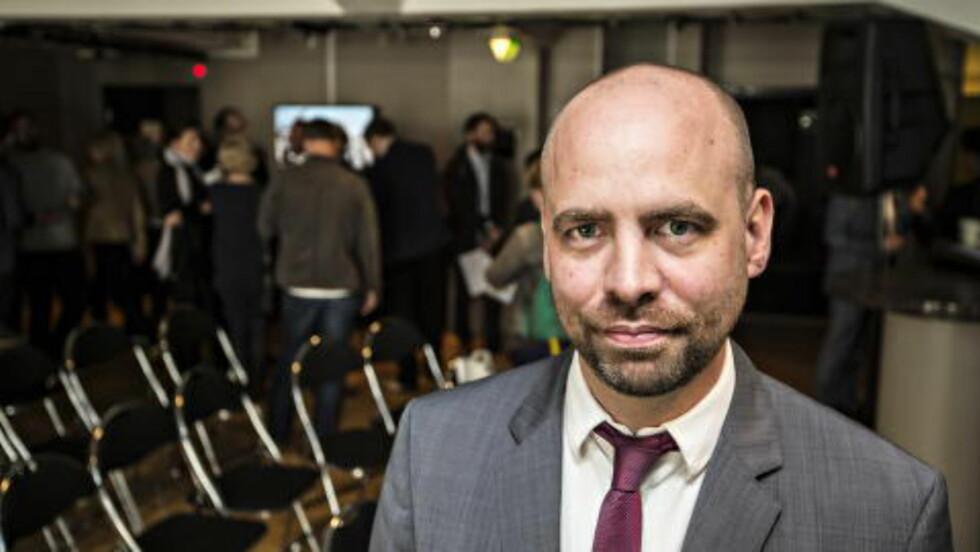 FORVENTA MER: Aps Arild Grande mener Widvey burde kommet mye lengre i fredagens NRK-melding. Foto Hans Arne Vedlog  / Dagbladet