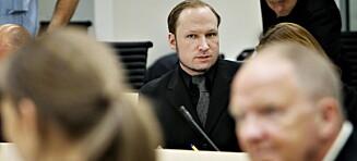 - Reservasjonsrett mot å undervise gjør at Breivik vinner