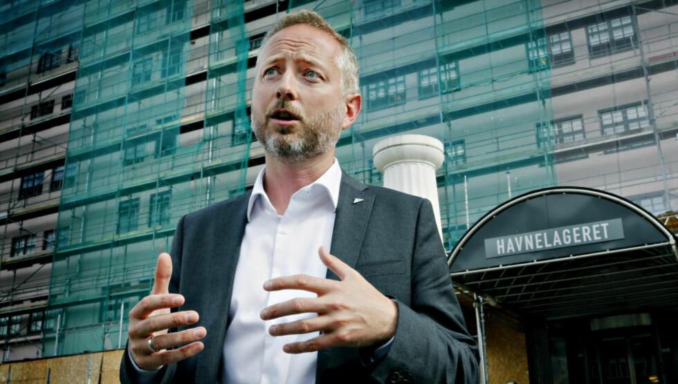 Oslo 20130829. Bård Vegar Solhljell om lagring av personopplysninger i forsvarets arkiver. Foto: Jacques Hvistendahl / Dagbladet