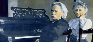 Polferd, Solo-reklame, og Edvard Grieg på hotell