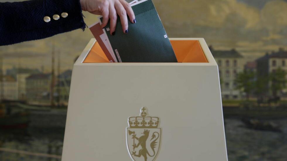 Valgdeltakelse:  Kan en stemmeattest få opp unges valgdeltakese? Foto: Håkon Mosvold Larsen/NTB scanpix