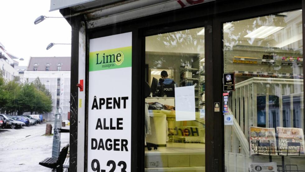 LAGT NED: Politiet aksjonerte i fjor mot dagligvarekjeden Lime etter mistanke om omfattende menneskehandel, grov helleri og skatteunndragelser. Foto: NTB scanpix
