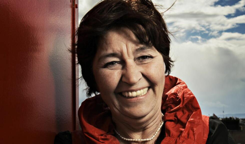 FÅR KRITIKK: LO-leder Gerd Kristiansen får kritikk fra Tannlegeforeningen fordi hun ikke støttet norske tannleger, men i stedet dro til Ungarn for å få billig tannbehandling. Foto: Jørn H. Moen / Dagbladet
