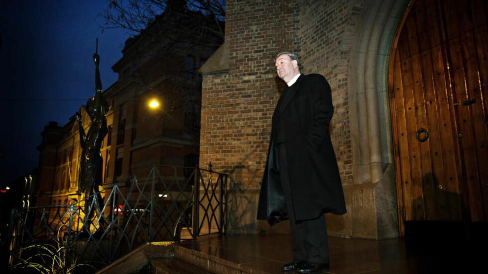 Klager:  Oslo Katolske Bispedømme, som ledes av biskop Bent Eidsvik, godtar ikke kravet på 40 millioner kroner. Foto: Nina Hansen / Dagbladet