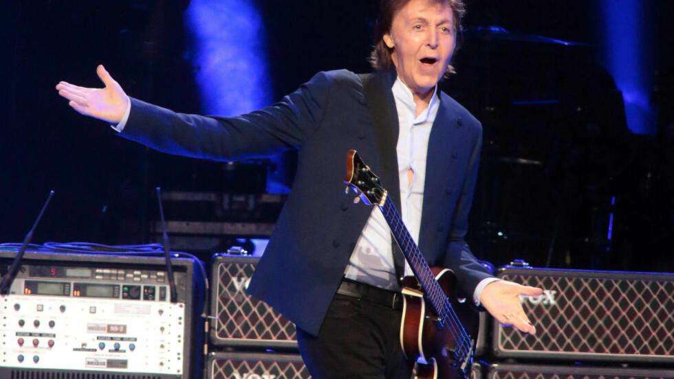 <strong>PÅ TOPPEN AV HIERARKIET:</strong> Det er spillegleden, ikke pengene, som motiverer Pauyl McCartney, skal vi tro musikkviterne. Foto: Owen Sweeney/Invision/AP