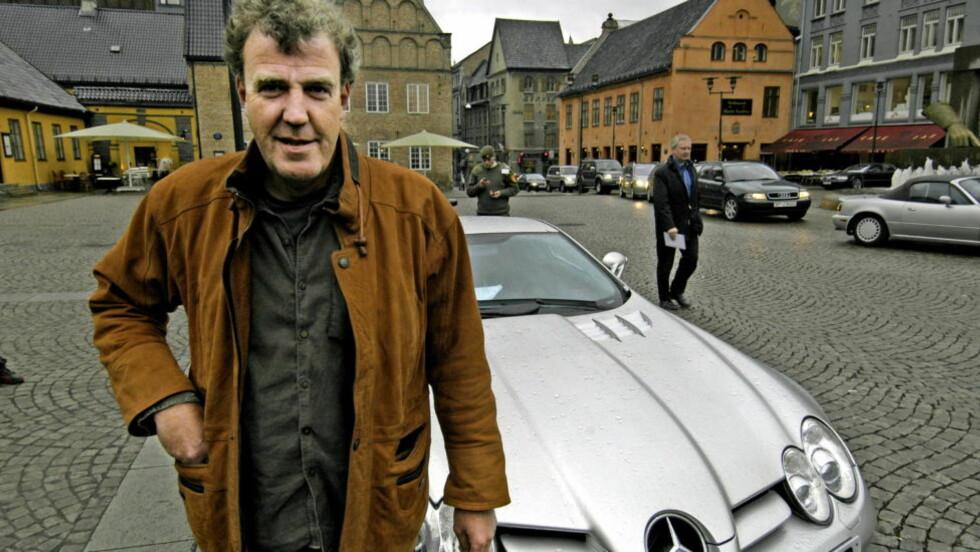 - FÅR SPARKEN: Jeremy Clarkson fra BBC-programmet «Top Gear» får ikke fortsette i programlederjobben, ifølge britiske medier. Foto: Eivind Skjervum