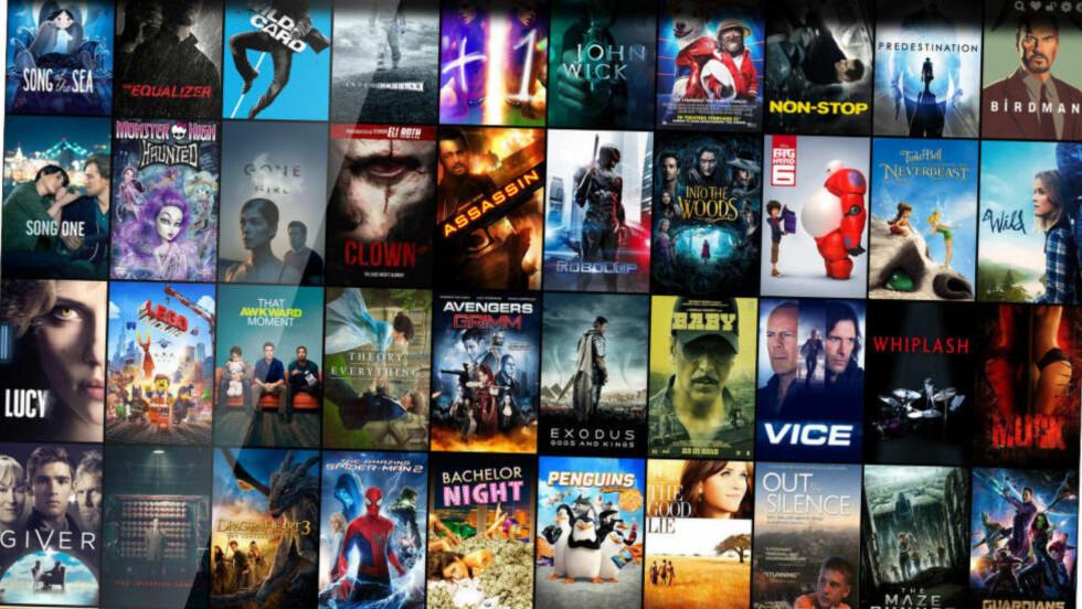 ENKELT: Der du tidligere måtte styre med å finne filer på torrent-nettverk og laste dem ned på din pc, gjør Popcorn Time det enklere enn noensinne å se piratfilm på nettet.