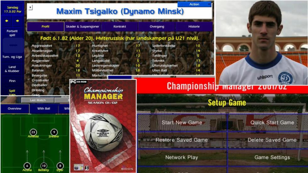 LEGENDARISK: Championship Manager sesong 2001/02 er for mange det beste managerspillet som har blitt gitt ut i serien.