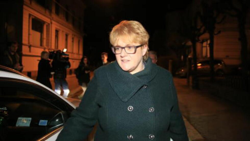 UTEN LØSNING: Venstre-leder Trine Skei Grande. Foto: Nina Hansen