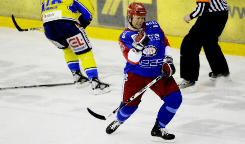 TFFING: Øystein Olsen, tidligere Vålerenga-spiller. Foto: Stian Lysberg Solum / NTB Scanpix