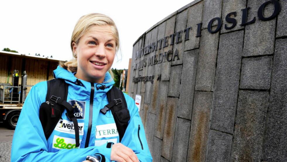 SIER NEI: Astrid Uhrenholdt Jacobsen sitter i Idrettsmedisinsk etisk råd, som klart anbefaler Idrettstinget å beholde forbudet mot høydehus. Foto: Erik Berglund