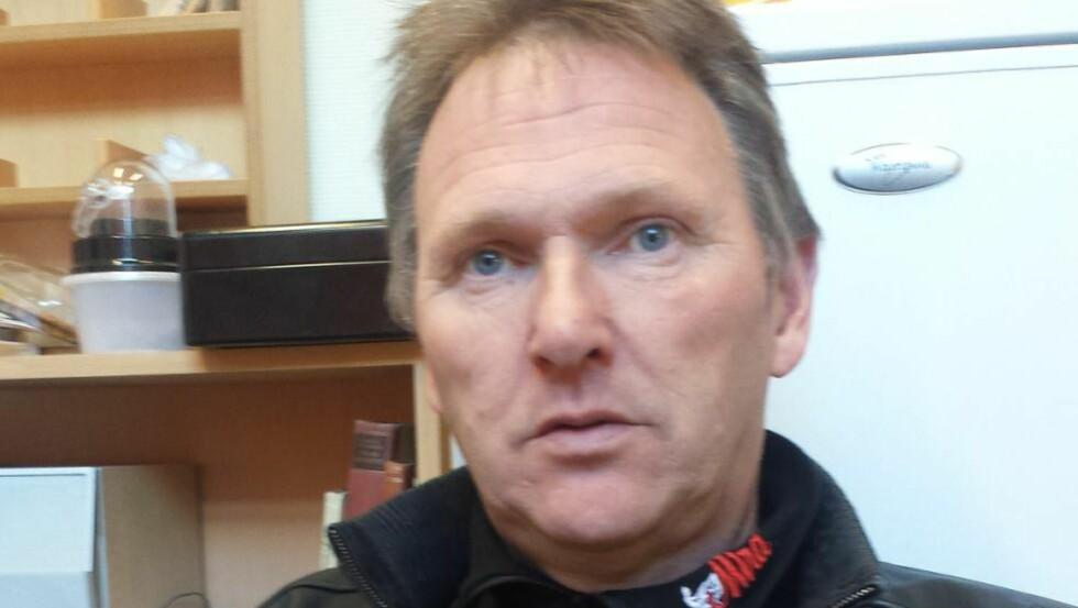 PERSONLIG KATASTROFE. Travtrener Magne Olsen har fått hele næringsgrunnlaget revet bort etter en gedigen tabbe av forleverandøren. Foto: PRIVAT.