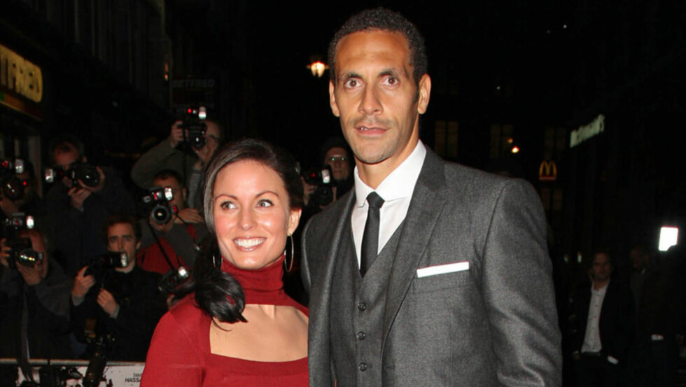 DØDE AV KREFT: Rebecca Ellison, kona til tidligere England-kaptein Rio Ferdinand, har gått bort etter en kortere tids kamp mot kreft. Foto: Lia Toby  / WENN / NTB Scanpix