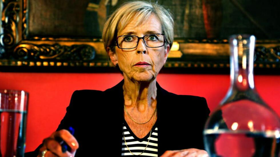 TIDLIGERE MINISTER: Anne-Grete Strøm-Erichsen jobber nå som lobbyist på Stortinget. Foto: Jacques Hvistendahl / Dagbladet
