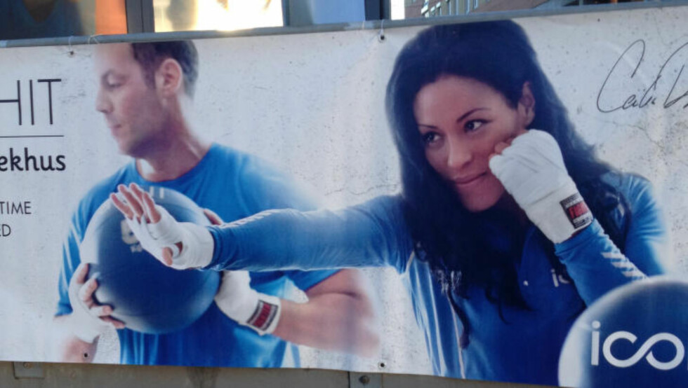 NYTT KONSEPT: Nå utfordrer den norske boksedronninga nordmenn til det samme i et treningskonsept basert på egne spesialøvelser i samarbeid med den nye treningskjeden ICON. Foto: Bengt Berg / Dagbladet