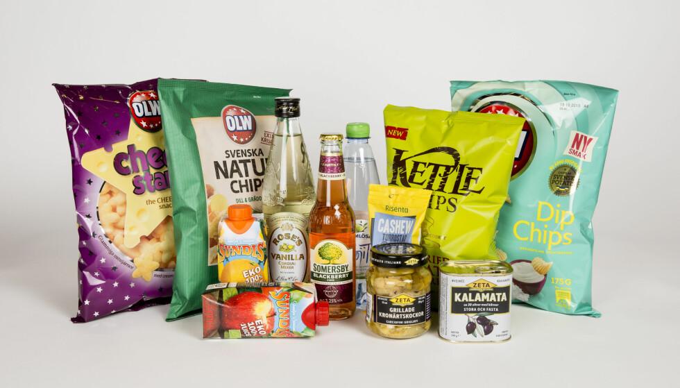 EKSTREME RABATTER: Du får ikke ferskvarer hos Matsmart. Til gjengjeld tilbyr nettbutikken pasta, ris, tørrvarer, sauser og snacks med 50-90 prosent rabatt. Butikken krever imidlertid ofte minstesalg på to eller tre produkter av hvert slag for å få de laveste prisene. Foto: MATSMART