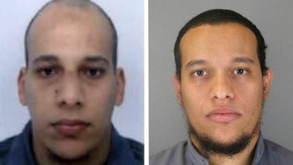 VARSLET: På tirsdag ble Frankrike varslet av Algerie om et mulig terrorangrep. På onsdag slo det som skal være Chérif og Said Kouachi til i Paris. Foto: AP / NTB scanpix