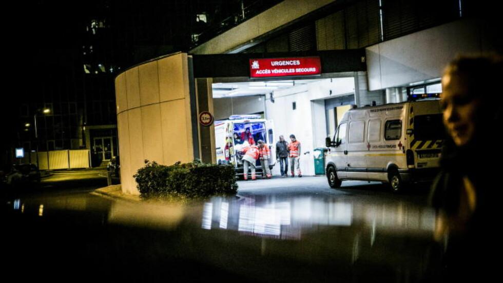 KOM HIT: Da de skadde gislene ble fraktet til dette sykehuset, skulle Farid Benyettou - en religiøs tidligere leder ved en nedlagt, ekstrem moské - ta dem imot, hevder kollegene hans. Men han ble sendt hjem fra jobb, sier de. Foto: Christian Roth Christensen / Dagbladet