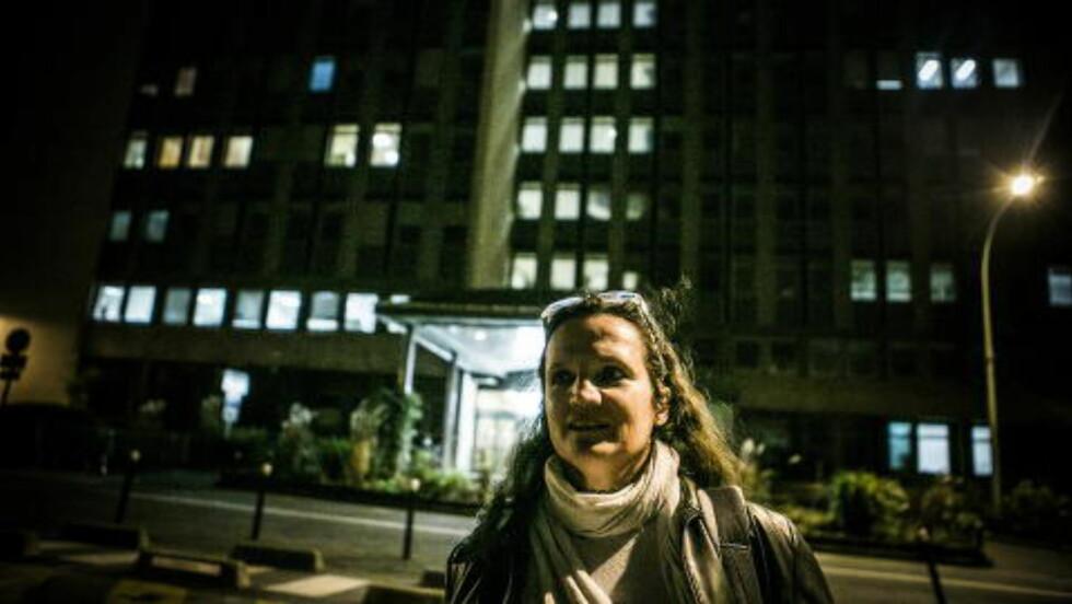 JOBBER SAMMEN: Lydia er sykepleier på dette sykehuset, der mannen som skal ha radikalisert terrobrødrene i forkant av terrorangrepet mot Charlie Hebdo, jobber. Foto: Christian Roth Christensen / Dagbladet