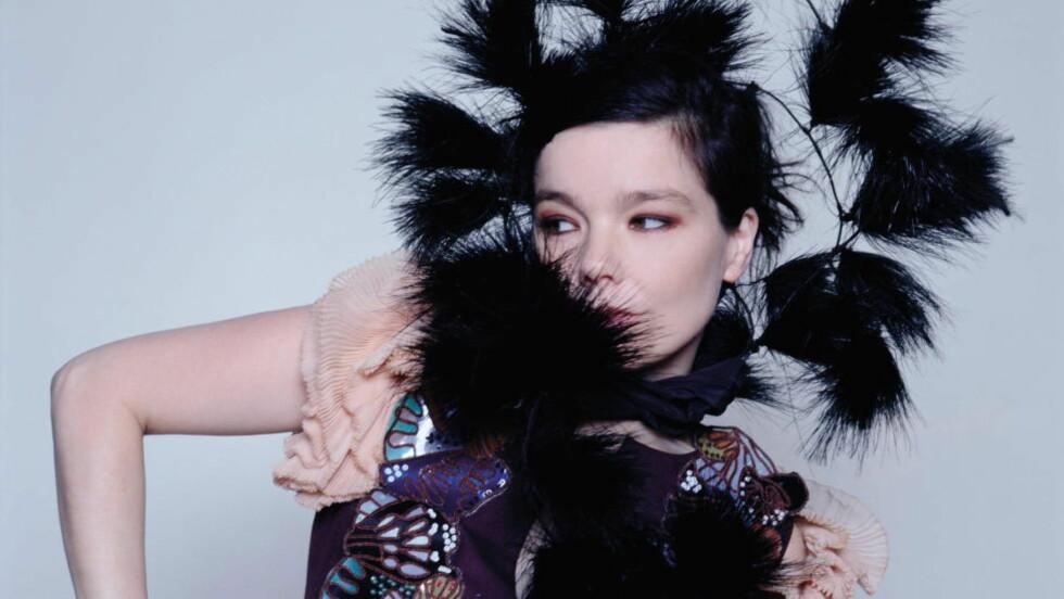 NYTT ALBUM: Björk kommer i mars med nytt album. Foto: Universal Music