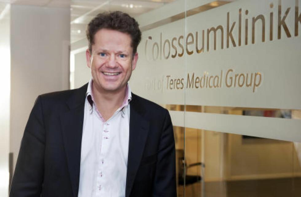 TOK GREP: Daglig leder Erik Grefberg i Teres Medical Norge AS sier selskapet har endret retningslinjene for brystoperasjoner etter Katarina Pettersen-saken. Foto: Teres