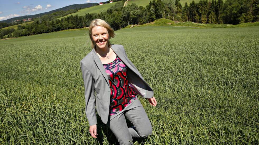 SIDERSALG: Landbruks- og matminister Sylvi Listhaug åpner for at bøndene kan selge alkoholholdig eple- og pæresider. Foto: Jacques Hvistendahl / Dagbladet