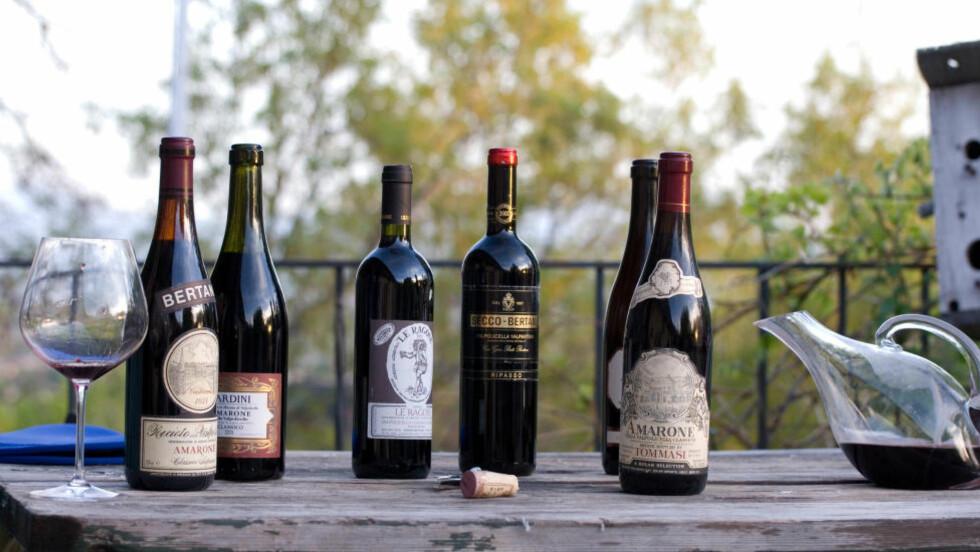 FALLER I SMAK: Kombinasjonen av rik sødmefull frukt og høy alkohol i Amarone og Ripasso, er tydeligvis egenskaper som faller i smak hos folket - selv om vinanmelderne ikke alltid er enig. FOTO: Don LaVange/Creative Commons