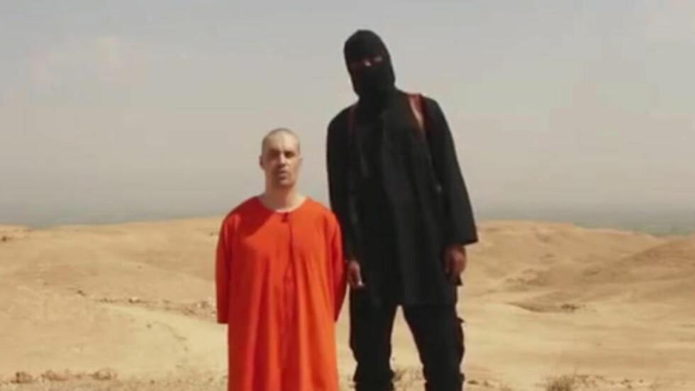 HENRETTET: Amerikaneren James Foley var fange hos Den islamske stat. Amerikanerne nektet å betale løsepenger, og Foley ble halshogd.