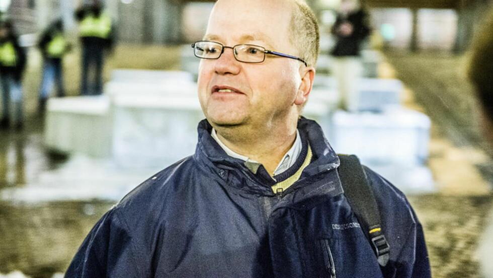 MISTET DELTIDSJOBB: Pegida-talsmann Max Hermansen er lærer i Oslo-skolen og har flere muslimske elever. Nå har han fått sparken fra deltidsjobben som lærer ved Opplæringskontoret for service og samferdsel. Foto: Thomas Rasmus Skaug / Dagbladet