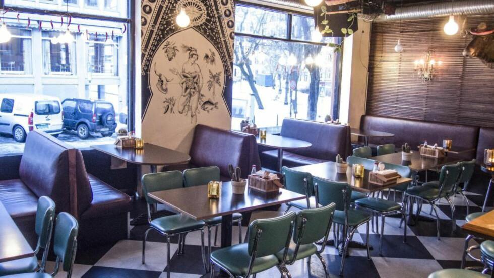 TACO-TID: Det blåser en meksikansk vind over Oslo. Nå  kan du velge mellom ti restauranter når taco-trangen melder seg. Taco Mission er den nyeste. Foto: THOMAS RASMUS SKAUG