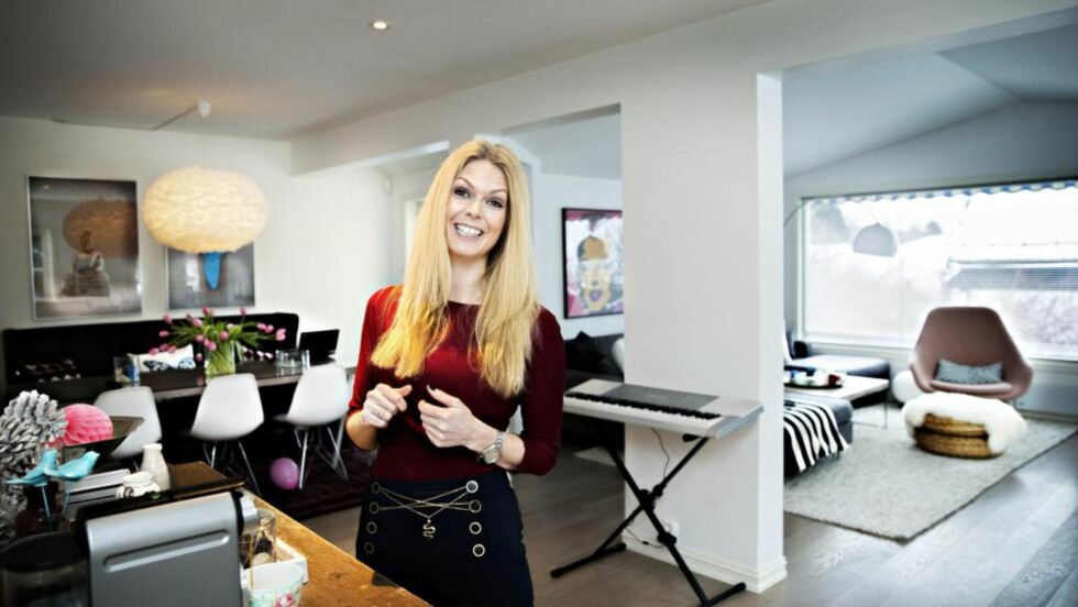 BLE BOLIGEIER TIDLIG: Forbrukerøkonom Elin Reitan i Nordea kom seg tidlig inn på boligmarkedet og har opparbeidet seg en del egenkapital på grunn av verdistigningen. Foto: NINA HANSEN/DAGBLADET