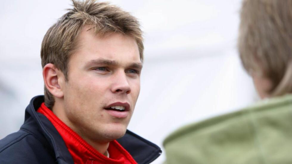 PALLEN: Andreas Mikkelsen lyktes med å forsvare sin 3.-plass da Rally Monte-Carlo ble avsluttet søndag.  Foto: Håkon Mosvold Larsen / SCANPIX