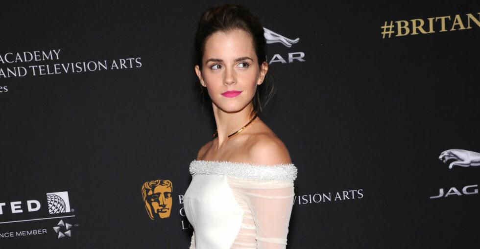 NY ROLLE: Skuespiller Emma Watson vil bli å se i Disneys nye storsatsning som karakteren Belle. Foto: Stella Pictures