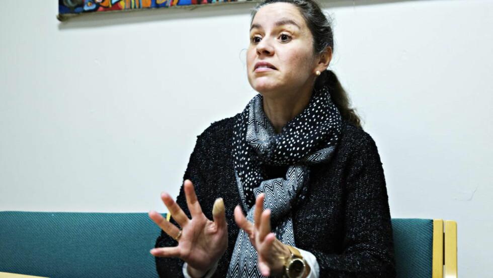 - NORSKE LOVER GJELDER IKKE: - Det virker på oss som at norske lover ikke gjelder for utenlandske arbeidstakere som står alene, sier prosjektleder i organisasjonen Selvhjelp for innvandrere og flyktninger (SEIF), Belinda de León. Foto: NINA HANSEN/DAGBLADET