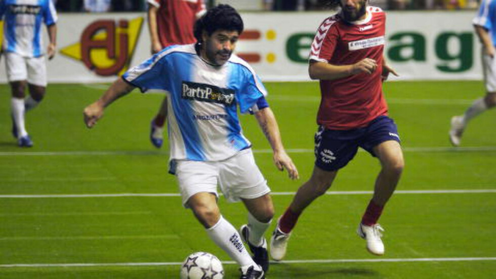 PRESS: Sergio Agüero vokste opp med Diego Maradona som svigerfar. Foto: Eirik Helland Urke / Dagbladet