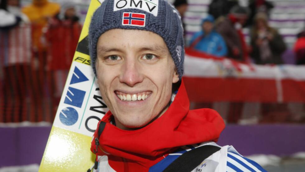 ANDREPLASS: Rune Velta ble slått med ett lite poeng i verdenscuprennet i Willingen søndag. Foto: Terje Bendiksby / NTB scanpix