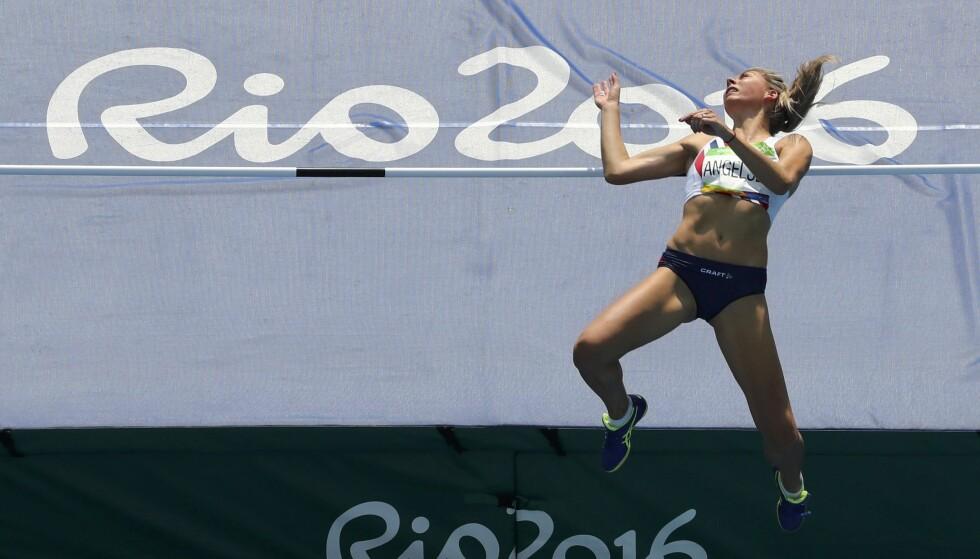 <strong>62 PROSENT:</strong> To tredjedeler av de norske utøverne fra Rio-OL 2016 mener de ikke har god nok økonomi til å være med og kjempe om medaljer. Her er Tonje Angelsen i aksjon. Foto: REUTERS / Fabrizio Bensch / NTB Scanpix