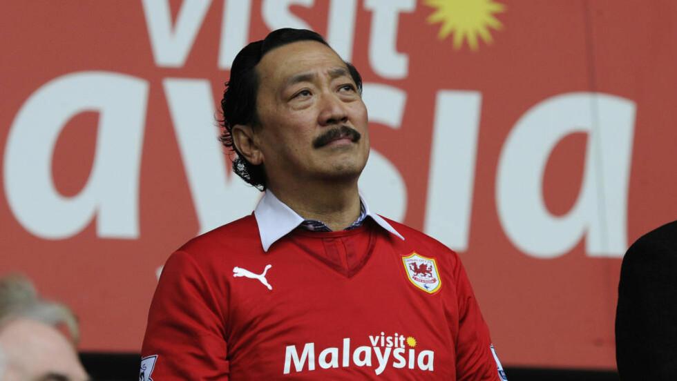 TIL STATENE: Cardiff City-eier Vincent Tan er en av flere på eiersida i den nye amerikanske klubben Los Angeles FC. Foto: REUTERS/Rebecca Naden