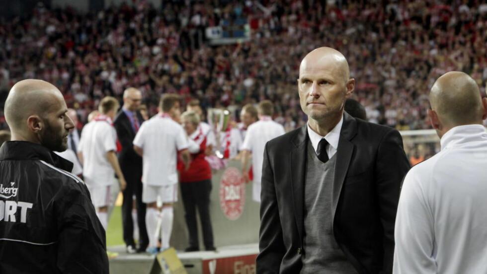 VANT: Ståle Solbakken og FC København vant 3-2 og er videre i den danske cupen. Foto: Kristian Ridder-Nielsen / Dagbladet.
