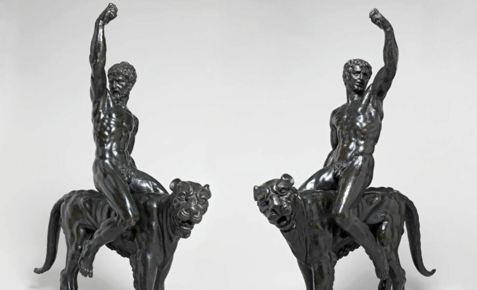 - TYPISK MICHELANGELO: De to statuene, som begge måler 93 X 80 centimeter, kan stamme fra den verdensberømte kunstneren Michelangelo. Foto: Fitzwilliam Museum / EPA / NTB Scanpix