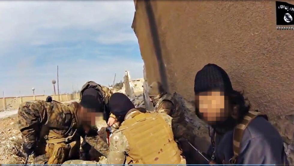 I SYRIA: Menn fra 80 land kjemper for IS i Syria, ifølge en ny rapport.