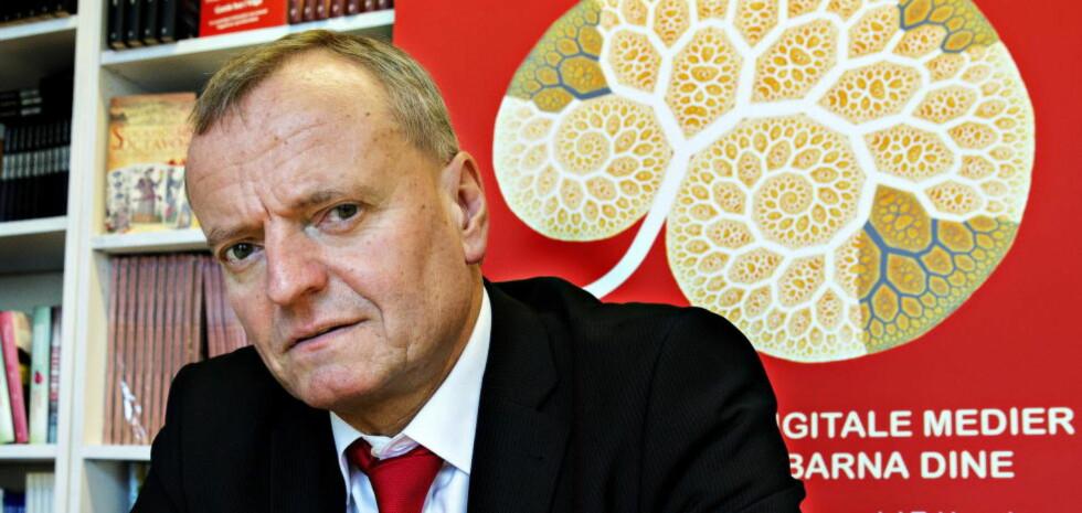 SVAR:Manfred Spitzer står fast på konklusjonen om at digitale medier fører til demens. Foto: Nina Hansen / Dagbladet