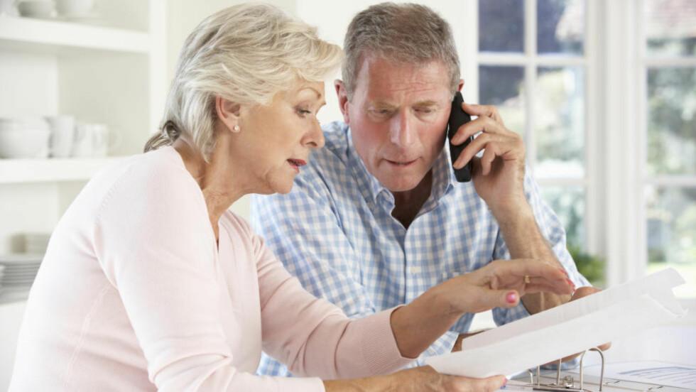 UVISS FRAMTID: Det lønner seg å planlegge økonomien for pensjonisttilværelsen. Foto: COLOURBOX