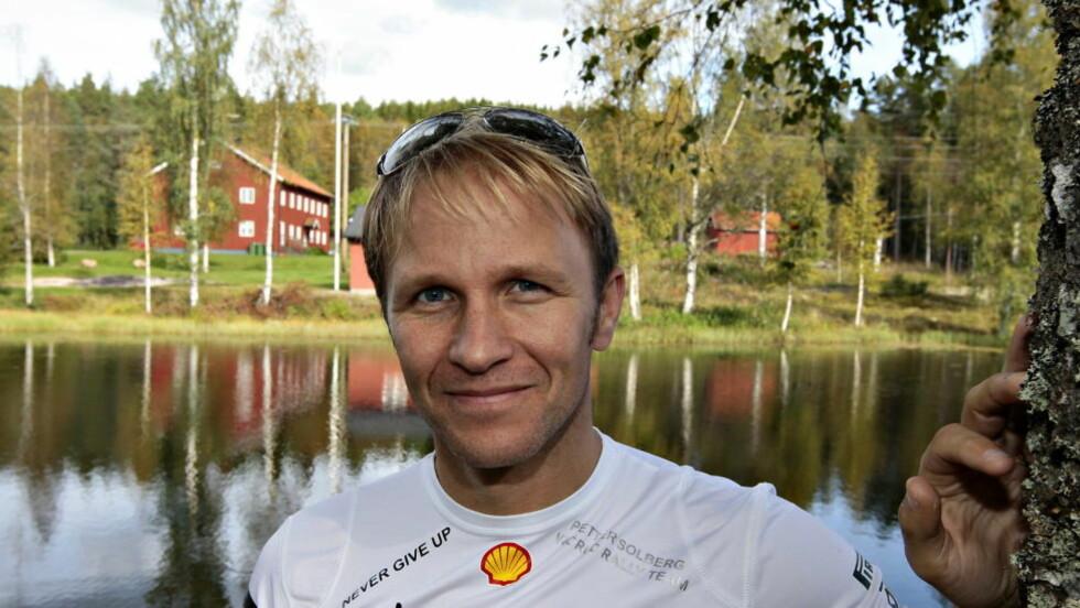 RALLY IGJEN. Petter Solberg kjører rally igjen til helga. Men det blir med denne ene gangen i et jubileum sammen med sin gamle kartleser. Foto: ARNT E. FOLVIK / Dagbladet