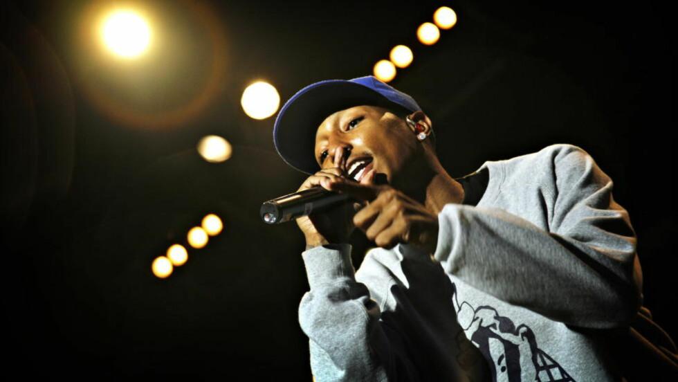 TJUVRADD? Pharrell Williams beskyldes for å stjele fra Marvin Gaye. Foto: Anders Grønneberg / Dagbladet