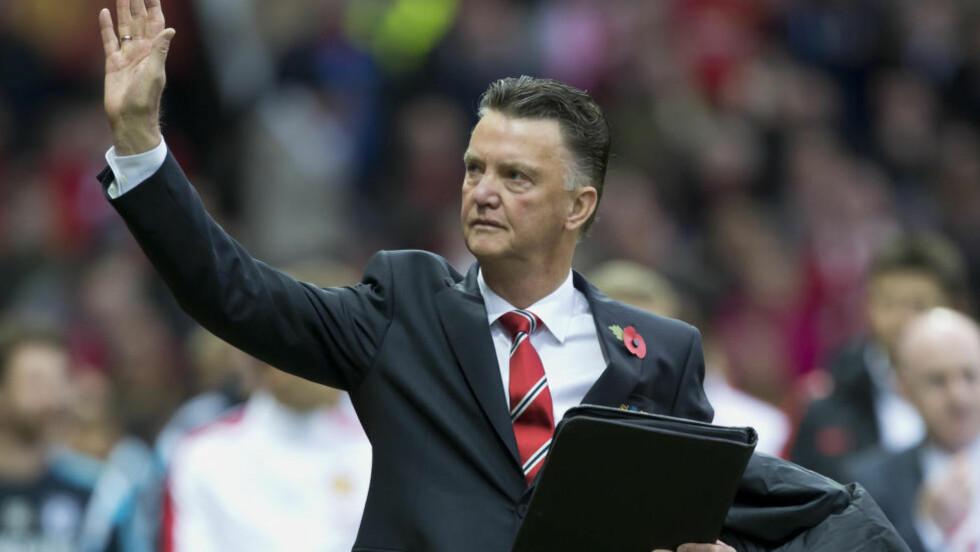 KLAR FOR DERBY:  Louis Van Gaal er klar for sitt første derby som Manchester United-manager. Foto: AP Photo/Jon Super