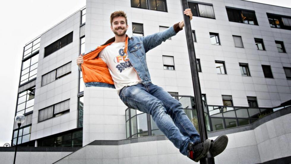 NYTT KONSEPT: Neste år skal Stian Blipp (24) lede TV 2s nye danseprogram «Mitt dansecrew». Foto: Torbjørn Berg / Dagbladet