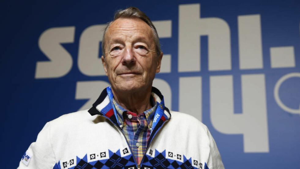 SYK: Gerhard Heiberg forteller i kveld i et intervju med TV 2 at han er rammet av lymfekreft, og at han er innstilt på at han ikke har lenge igjen å leve. Foto: Jon Eeg / NTB scanpix