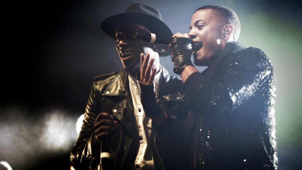 Live-konger: Nico & Vinz beviste nok en gang at de er uslåelige på scenen. Foto: Lars Eivind Bones / Dagbladet